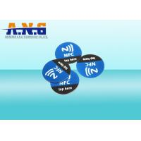 China Full Color Wireless Programming Rfid Tags Ultralight Customized Free Nfc Tag on sale