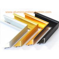 Best Brushed Aluminium Picture Frame Mouldings , Aluminium Picture Frame Extrusions  wholesale