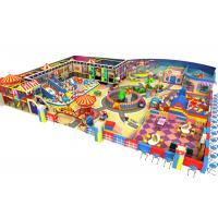 China Kids Soft Indoor Play Area 480 M²  Toddler Indoor Play Equipment For Business on sale