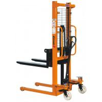 China Hydraulic Hand Forklift Manual Pallet Truck With 1600mm Lifting Height on sale