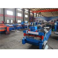 China Waterproof Steel Downspout Roll Forming Machine Hydraulic Motor High Speed on sale