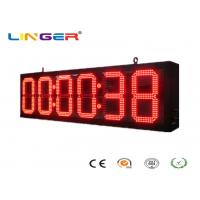 Best IP65 Front Wall LED  Digital Clock for Bus Station / Train Station wholesale