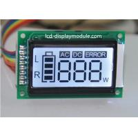 China TN 7 Segement Dot Matrix LCD Display Module 3 Digital Display With White Backlight on sale