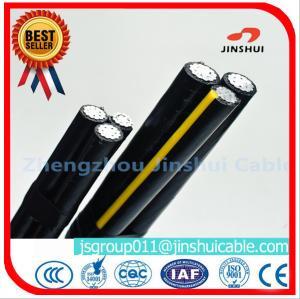 Best MV Voltage Aluminum Overhead Power Cables Triplex Type ASTM B-230 Standard wholesale