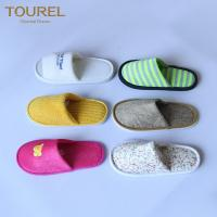 China Spa and salon Disposable Hotel Slippers , Disposable Slippers For Wedding on sale