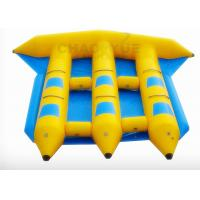 Best Flying Fish Boat Inflatable Water Sports 0.9MM PVC Tarpaulin Material With CE Pump wholesale
