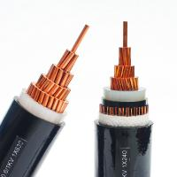 China Electrical Lines 50mm 4 Core Armoured Cable , PVC Sheathed Power Cable Anti Extrusion on sale