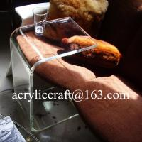 Best Clear Acrylic Furniture Lucite Coffee Table Plexiglass END SLIDE TABLE wholesale