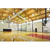 Best Professional PVC Sports Flooring , Basketball Court Tile Flooring Wooden Type Sealed wholesale