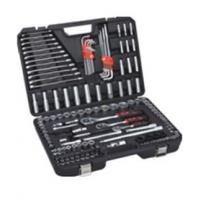 Best 155 pcs socket tool set ,with combination wrenches ,extension bar ,universal joint . wholesale