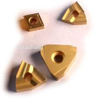 China Carbide CNC Threading Insert , Cbn Inserts For Hard Turning 89-93 HRA Hardness on sale