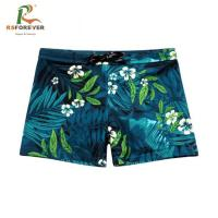 China Breathable CMYK Color Mens Lycra Bikini Underwear / Mens Swim Trunks on sale