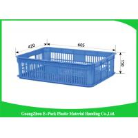Best Household Plastic Food Crates Foldable Folding Solid For Fruit And Vegetable wholesale