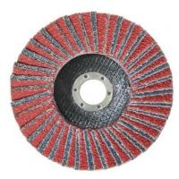 China Calcined Aluminium Oxide Flap Disc Abrasive Blaze R980P Coarse Grit Center Mount Plastic Flat Flap Disc on sale