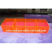 Best Colorful plexiglass case 4 division acrylic food cabinet made in China wholesale