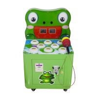 China Hit Crazy Frog Hammer Kids Coin Operated Game Machine on sale
