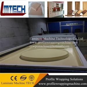 China cheapest price interior door pvc door vacuum membrane press machine on sale