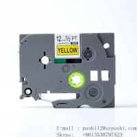 China Brother black on white P-touch Label tape cassette for Label Makers TZe631 TZe-631 on sale