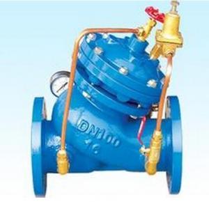 Best DN100 PN25 water pressure regulating valve YX741 , Inlet Pressure 22Kg / Sq.cm max wholesale