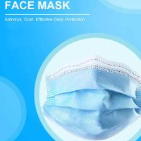 China Polypropylene Disposable Dust Masks 3 Ply Protection Masks With Tie On on sale