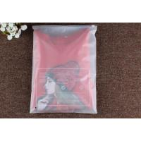 Best Resealable EVA Cosmetic Cloth Plastic Pouches Packaging With Ziplock Slider wholesale