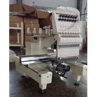 Best One Head Large Format Embroidery Machine 12 Needle With  270° Wide Angle Cap System wholesale