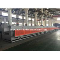 China GAS 1200 KG/H Mesh Belt Furnace Tempering Treatment For 8 KG COIL SPRING on sale