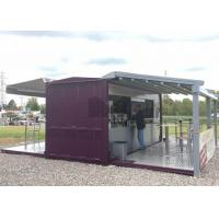 Best 20ft / 40ft Shipping Container Coffee Shop , Commercial Use Container Coffee House wholesale