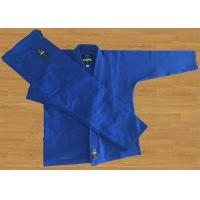 Best Blue Brazilian Jiu Jitsu Gi 420G Pearl Weave Lapel Bjj Gi Jacket wholesale