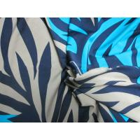 Best 95% polyester and 5% spandex kntting printed single jersey fabric wholesale