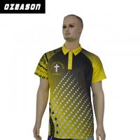 Best Design Your Own Style 100% Polyester Dri Fit Short Sleeve Polo Shirt wholesale