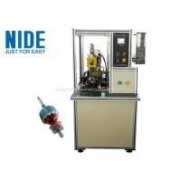Best Welding The Copper Wire Commutator Hook Fusing Machinery / Machinery For Mixer Motor wholesale