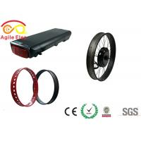 Best 10 Hours Charging Time Fat Tire Electric Bike Conversion Kit With Hand Grip wholesale