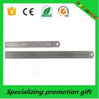 Buy cheap Product 2016 custom 30cm stainless steel ruler made in China with Logo printed product