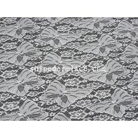China White Butterfly Design Nylon Lace Fabric Jacquard Technics For Dress SYD-0179 wholesale