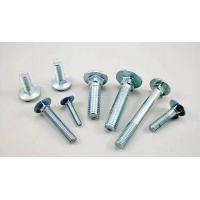 China Extra Long Galvanized Carriage Bolts Carbon Steel Material GB / T12 - 85 on sale