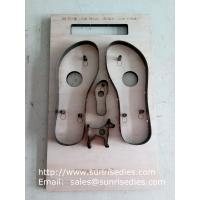 Buy cheap Sandals sole steel rule cutting dies China maker, flatboard Sandals sole steel from wholesalers