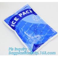 Best Fresh Food ice pack water injection Ice Bag, Dry Ice , Food fresh care rectangular shape gel cooling pack, summer coolin wholesale