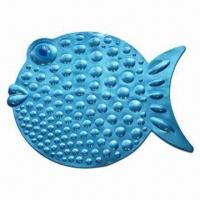 Best Bath Mat in Fish Shape, Made of PVC wholesale