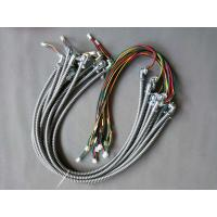 China Flexible Conduit Wire Harness  105 C Rating IP40 Zinc Alloy Conduit Fitting for home appliances on sale