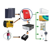 China Emergency Backup Power Off Grid Solar And Wind Kits ISO9001 Certification on sale