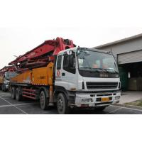 Best Yellow Reliability Concrete Pump Truck With Hydraulic System ISUZU 6x4 Chassis wholesale