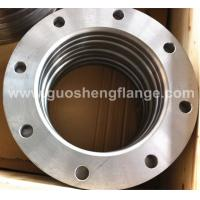 China A105 carbon steel plate flange for rubber expansion joint on sale