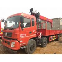 Best 90 Km/H Max Speed Used Truck Mounted Crane With Multiple Loading Capacity wholesale
