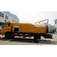 China Combined High pressure Water cleaning and Jetting Sewage suction Truck 4x2    Euro 4 ,5  Cell: 0086 152 7135 7675 on sale