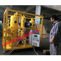 Insulating oil regenerationp plant, Transformer oil recycling purifier with ABB motor pump