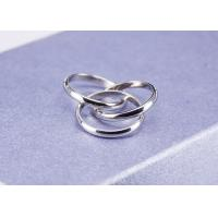 Best Custom Tricyclic Buckle Stainless Steel Band Ring Jewelry For Wedding wholesale