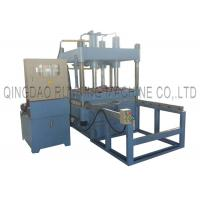 China Playground Rubber Powder Tile Vulcanizing Making Machine column type 50T / 80T / 120T pressure on sale