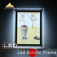 Best Led Acrylic Frame Led Menu Sign Lightbox Menu Board Slim Lightbox Holds wholesale