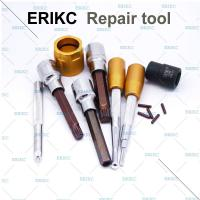 China ERIKC fuel injector fit tools high pressure common rail fuel injector dismantling equipment fix injection assy on sale